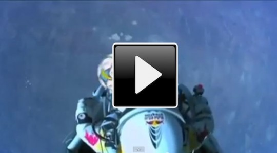 Felix Baumgartner e Sergio Ramos - VIDEO