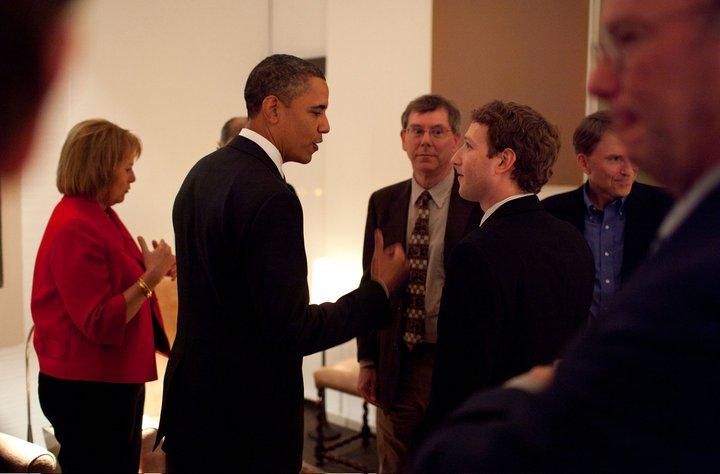 Foto private Mark Zuckerberg