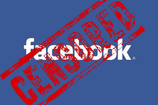 Facebook censured