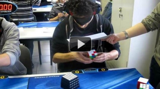 Cubo Rubik in 28 secondi
