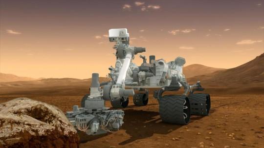 Molecole organiche su Marte