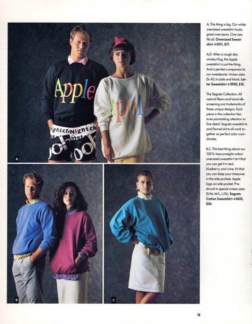 Abbigliamento Apple