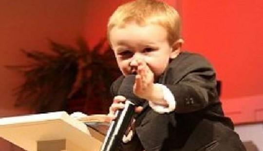 Baby predicatore