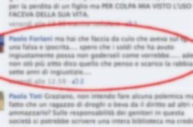 Insulti Facebook carabinieri