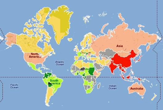Mappa Lunghezza