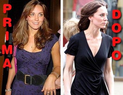 Trasformazione Kate Middleton