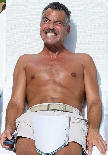 George Clooney Lifting