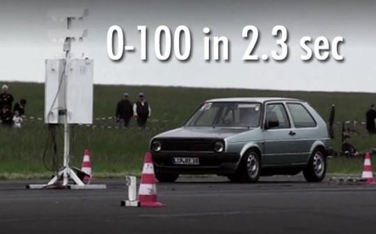 L'auto più veloce del mondo è una Golf: battuta la Bugatti Veyron