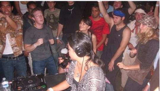 Mark Zuckerberg Rave