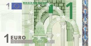 1 euro di carta