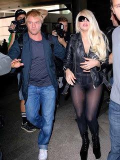 Lady Gaga Aeroporto