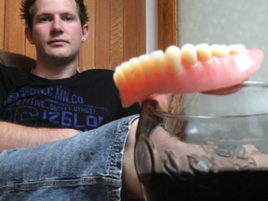 Coca-Cola perdita denti