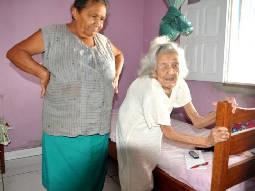 Margarida 116 anni