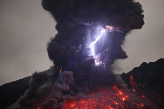 Eruzione Fulmine