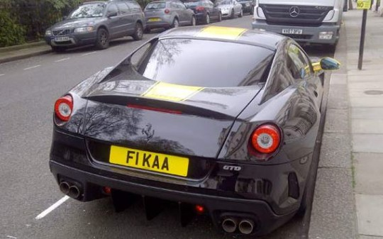 Targa Ferrari