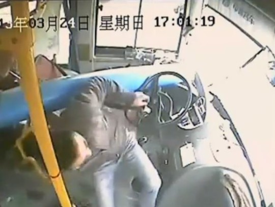 Incidente Autobus Cina