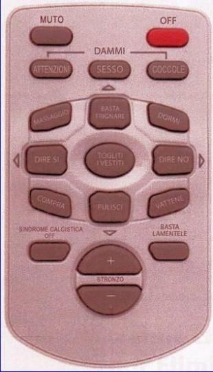 Telecomando donne