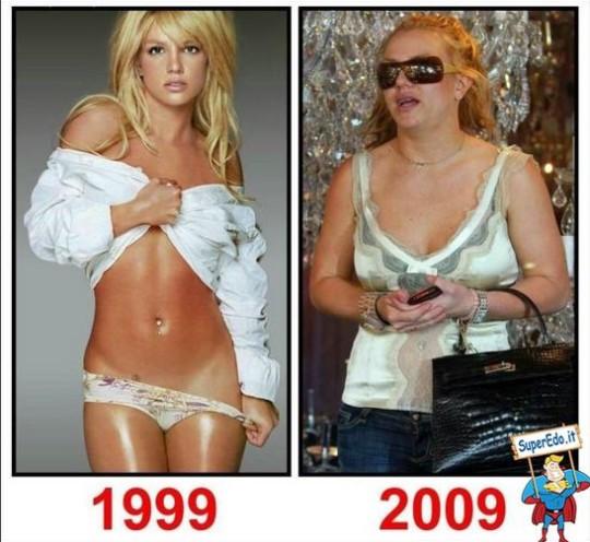 Cambiamento Britney Spears