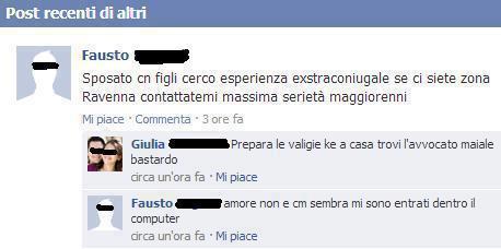Tradimento Facebook