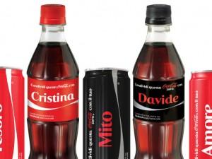 Lattine Coca Cola personalizzate