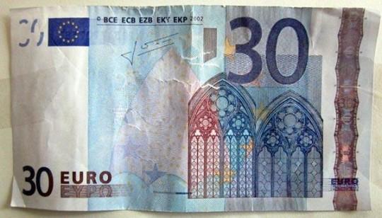 Banconota 30 euro