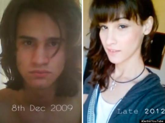 Trasformazione uomo donna