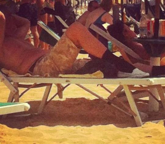 Foto imbarazzanti spiaggia 2013