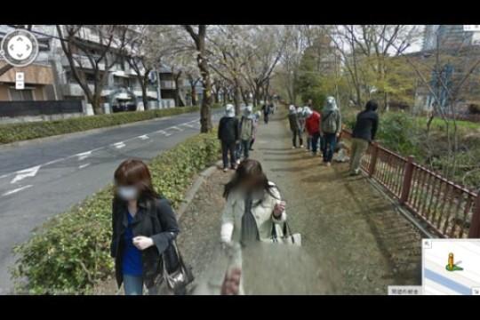 Immagini divertenti Google Maps