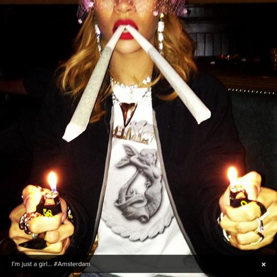 Rihanna Amsterdam