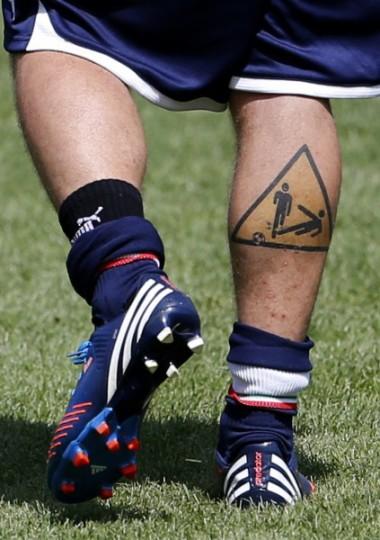 Tatuaggio De Rossi