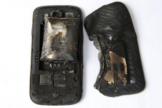 Galaxy S3 Esplode