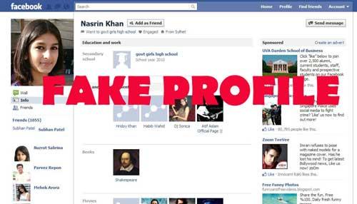 Profilo idiota Facebook