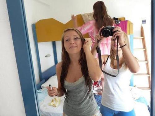 Foto allo specchio