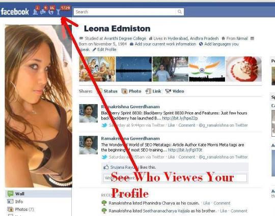Chi visita il profilo Facebook