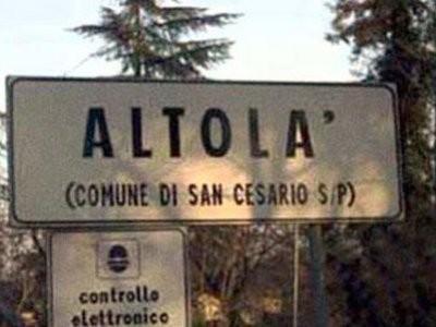 Città assurde Italia