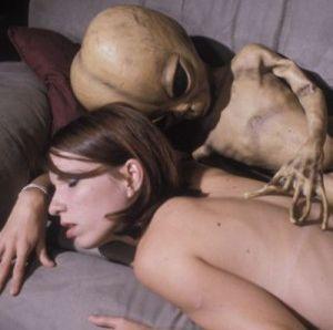 Incinta di un alieno