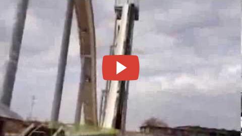 Lo scivolo ad acqua più alto del mondo