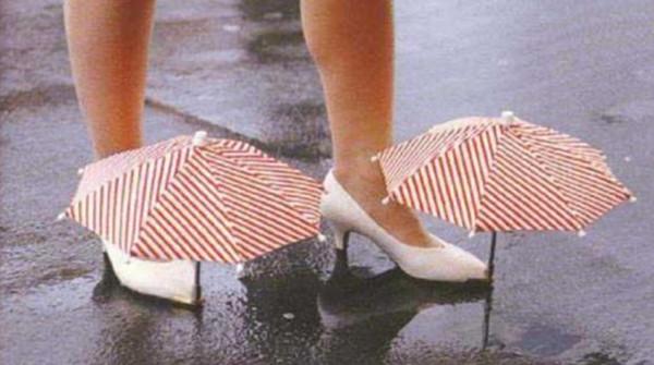 Ombrellini da scarpe