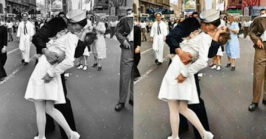 100 foto storiche ricolorate