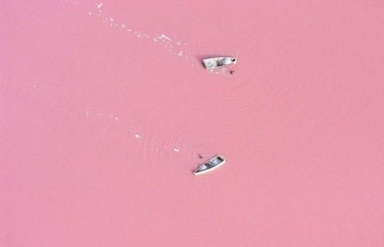 Lago Retba, Senegal