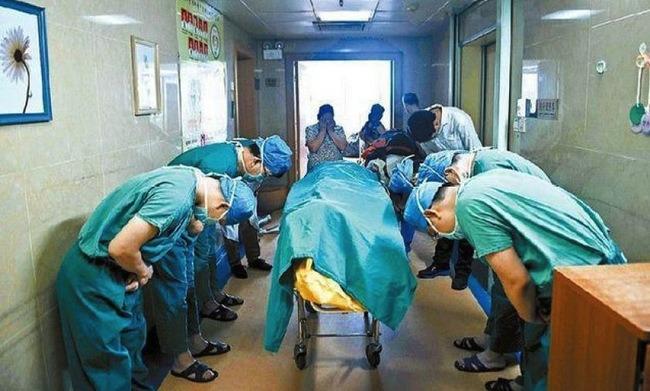 Bambino cinese dona gli organi