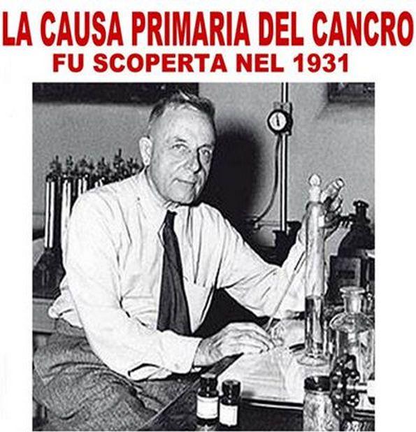 La causa principale del cancro fu scoperta nel 1931.Ma nessuno vi ha mai detto qual'è