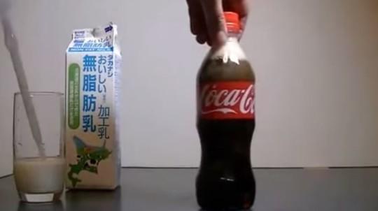 Coca Cola Latte