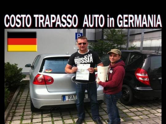 Costo passaggio proprietà auto in Germania