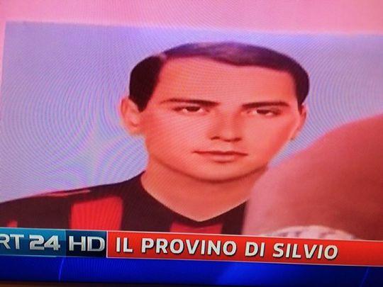 Berlusconi Giovane