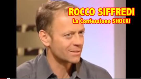 Rocco Siffredi Confessione Shock