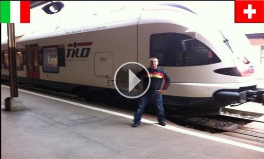 Stazioni Treni Italia – Svizzera: 100 metri 2 mondi diversi