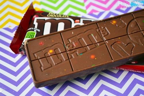 Barretta di cioccolato M&M's