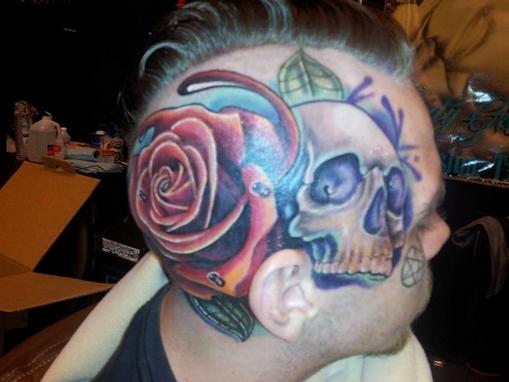 Volto Tatuaggio
