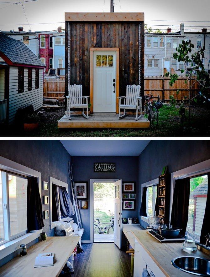 Matchbox: una piccola casa che si auto sostiene a Washington DC